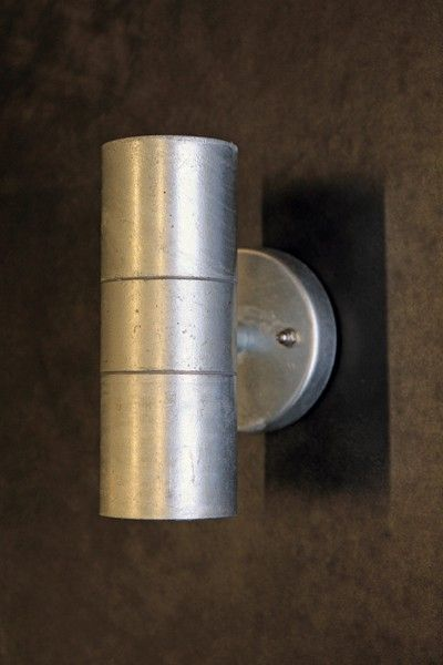 The Up & Down Steel Wall Light - suitable for indoor and out - View All - Garden