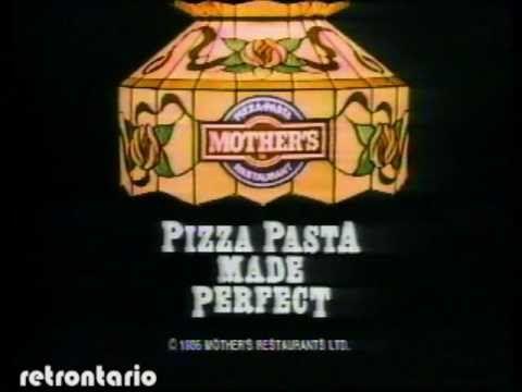 Mothers Pizza Dennis Weaver 1986