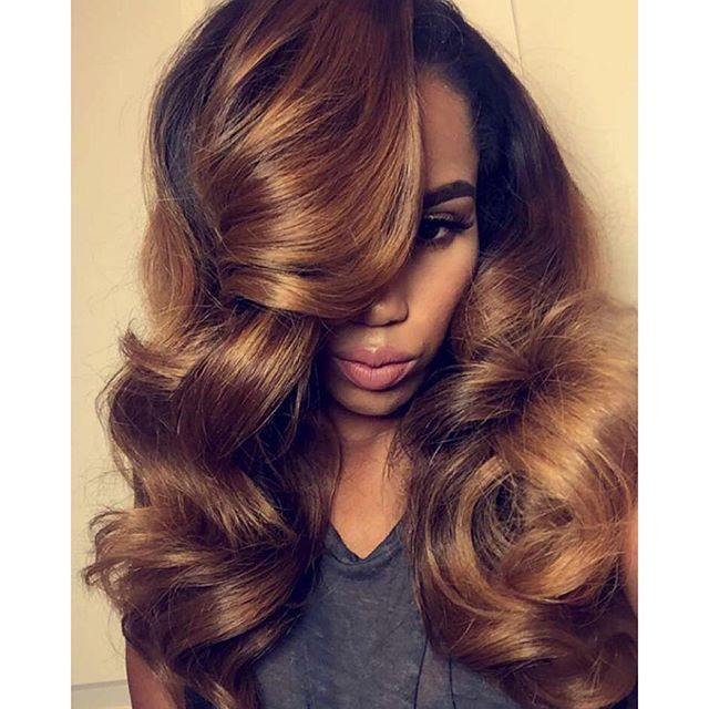 """Custom u-part wig and color that took 3 weeks for a client.  #dhairboutique"" Photo taken by @dhairboutique on Instagram, pinned via the InstaPin iOS App! http://www.instapinapp.com (01/06/2016)"