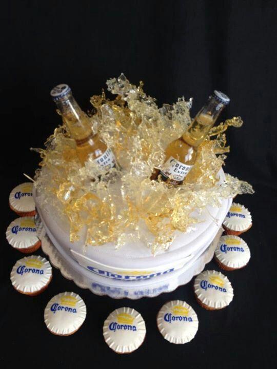 Corona Cake Cerveza Corona Extra Pinterest Cakes