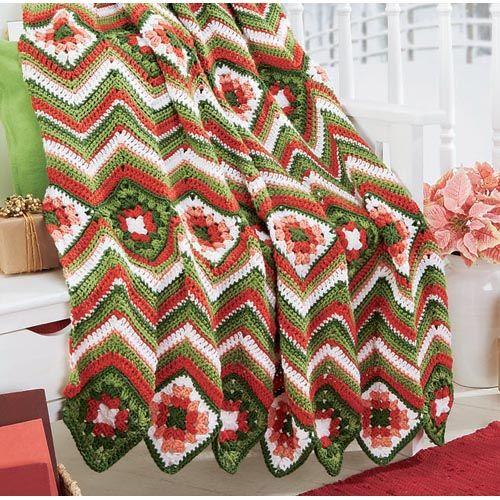 57 best Ripple Afghans to Crochet images on Pinterest | Blankets ...