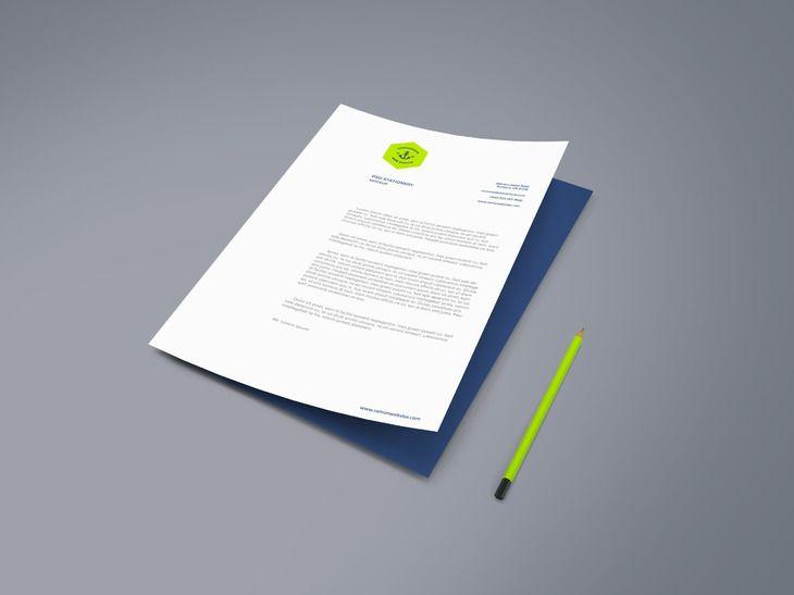 A4 Paper PSD Mockup Vol.2 - graphberry.com