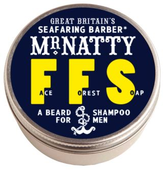 FFS from Mr Natty #beardshampoo #beard #soap