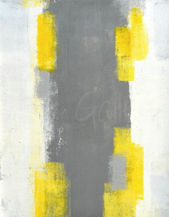 Trigger 2016 Original Acrylic Artwork Modern By. Find This Pin And More On Grey  And Yellow ...