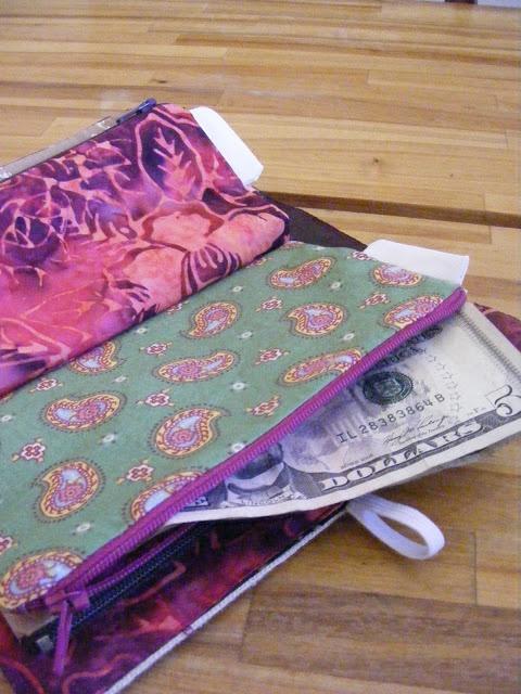 DIY Wallet for Cash Envelope System Budgeting {Tutorial}
