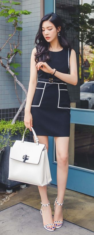 LUXE ASIAN FASHION - DRESS - Luxe Asian Women Design Korean Model Fashion Style Dress Luxe Asian Women Party Dresses Asian Size Clothing Luxury Asian Woman Club Dress Fashion Style Clothing 韓国の服 韩国衣服 韓国スタイル 韩国风格,韓国ファッション, アジアンファッション. If you want to buy th