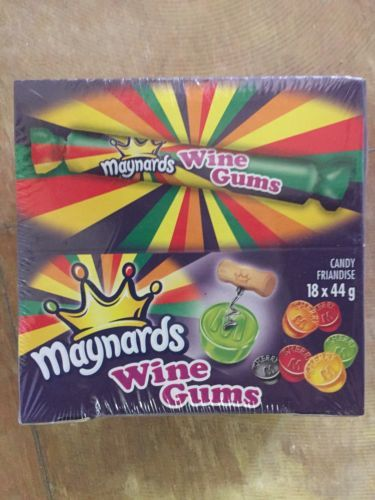 Gummi Candy 79627: Maynards Wine Gum Rolls (Box Of 18Pc 44G Each) - Canada Candy -> BUY IT NOW ONLY: $32.95 on eBay!
