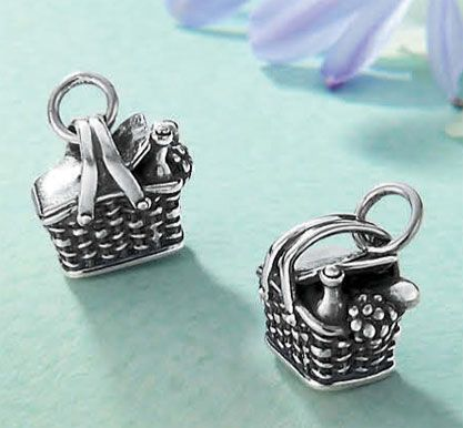 Picnic Basket Charm from James Avery Jewelry