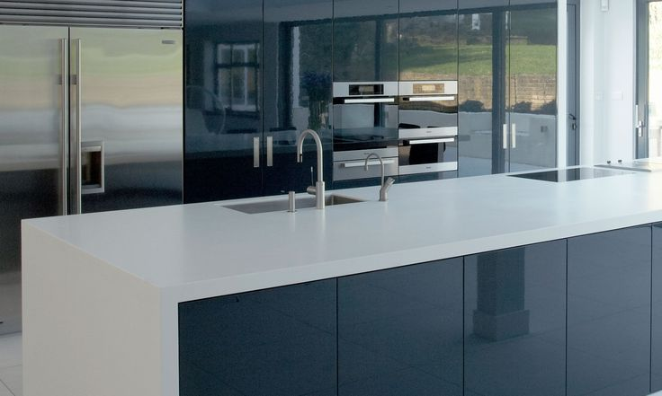 Vogue White High Gloss Lacquered Replacement Kitchen: Best 25+ High Gloss Kitchen Cabinets Ideas On Pinterest