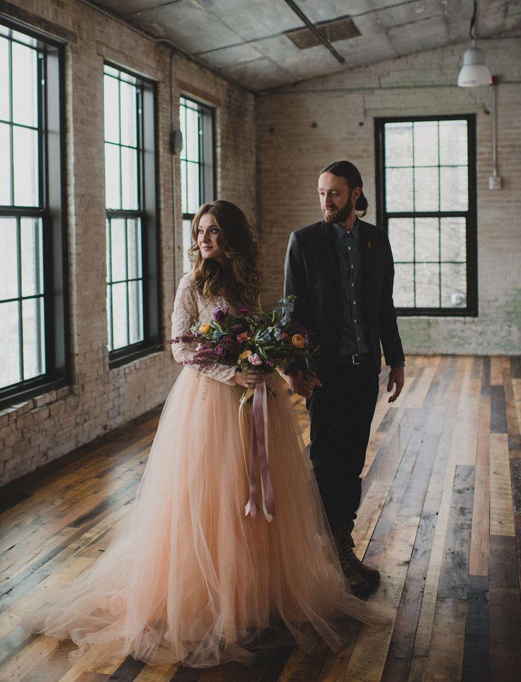 Modern minimalist wedding inspiration