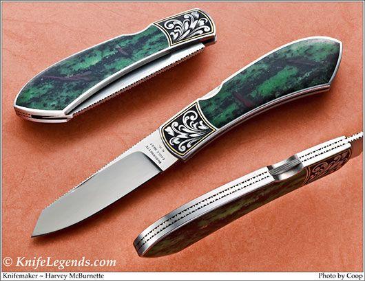 Knifemaker Harvey Mcburnette New Mexico Engraver
