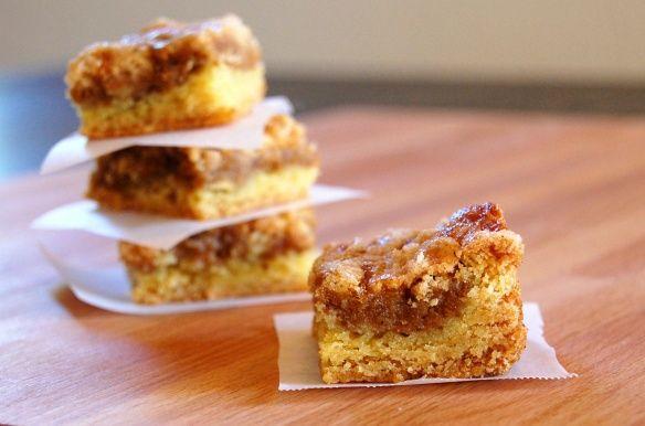 Pumpkin Dessert Squares using Williams-Sonoma pumpkin butter...so easy and good!