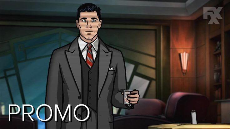 1940s Hollywood Noir Promos for Archer Season 8