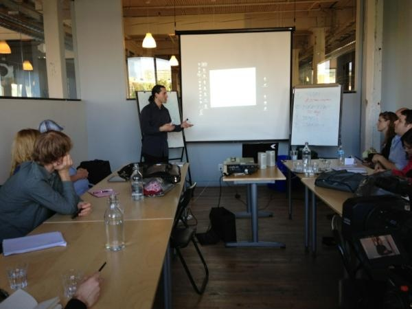 #Crowdfunding workshop from May 10, 2012 @raindancecanada. Productive session had by all participants.
