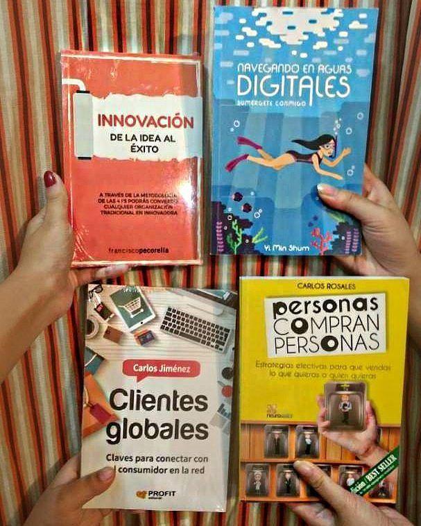 CONCURSO GIVEAWAY INTERNACIONAL DE AUTORES --- Premios:  1 libro físico de Personas Compran Personas 1 libro físico de Clientes Globales 1 libro físico de Innovación de la idea al éxito  1 libro físico de Navegando en Aguas Digitales --- Para ganar esta gran colección solo debes seguir unos pasos muy simples: Paso 1: seguir a las cuentas @yiminshum @franciscopecorella @carlosjimeneznet @personascompranpersonas @neurosales y @aguasdigitales Paso 2: mencionar mínimo a 3 amigos Paso 3: Dale…