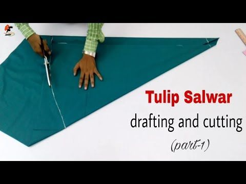 HOW TO MAKE TULIP SALWAR ट्यूलिप सलवार कैसे बनाये - YouTube