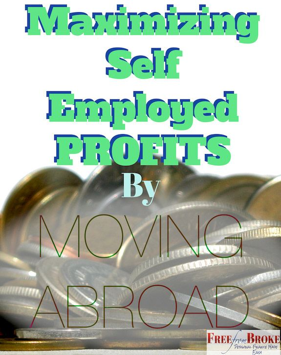 how to live abroad and make money