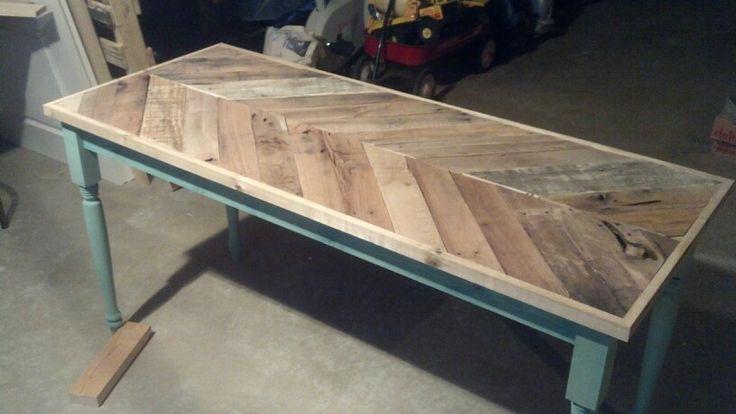 Second Kreg Jig Project My Wife Loved Her New Pallet Desk