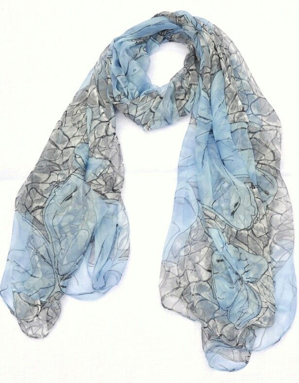 'After the last blue butterfly' - http://bluejade.com.au/shop/silk-scarves/last-blue-butterfly/
