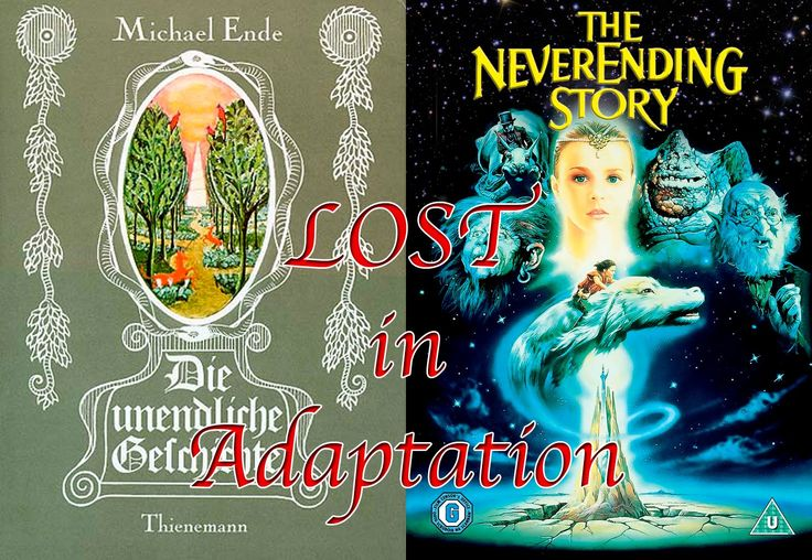 Lost In Adaptation: The Neverending Story Book vs Film . This guy pretty much sums up exactly how I feel about both the movie and the book.