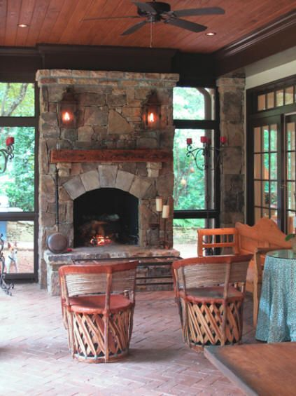 1000 Ideas About Porch Fireplace On Pinterest House Styles Things Definition And House With