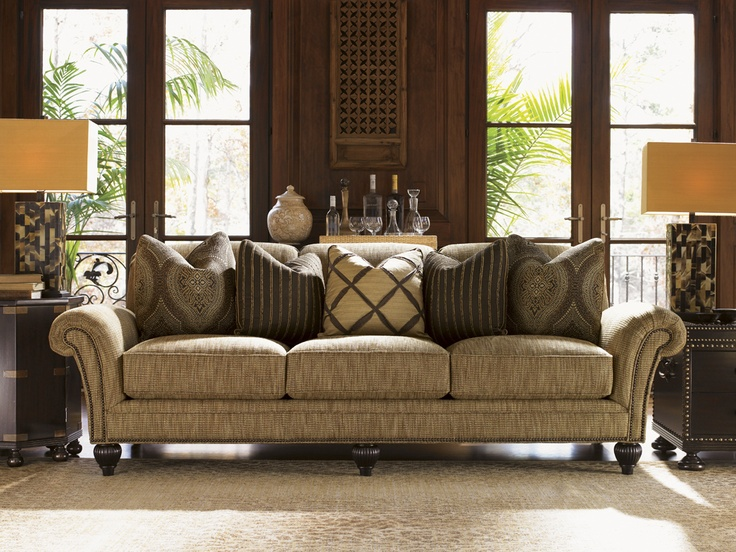 Lovely Royal Kahala Edgewater Sofa, Lexington Home Brands