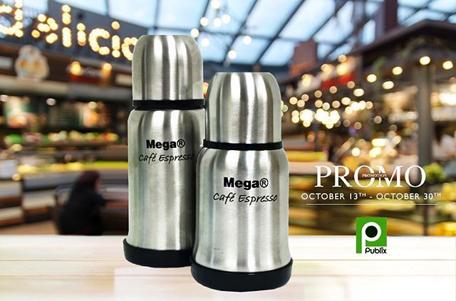 Get the Mega Cafe Espresso thermos at your local South Florida Publix supermarkets now on promotion. Keep your coffee or any warm beverage hot throughout the day in this portable size.  Easy to store.  #hispanicproduct #mug #mega #espresso #goodmorning #morning #southflorida #promo #promotion #publix #cafe #morning #lifestyle #drinks #kitchen #kitchenware  Yummery - best recipes. Follow Us! #kitchentools #kitchen
