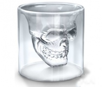 Skull Shot Glass Set