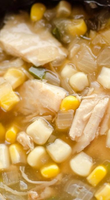 Spicy Turkey & Sweet Corn Soup