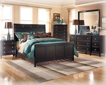 the teal brown our bedroom furniture everything