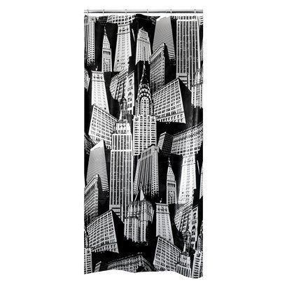 Curtains Ideas cityscape shower curtain : 17 Best images about new york bathroom on Pinterest | City scapes ...