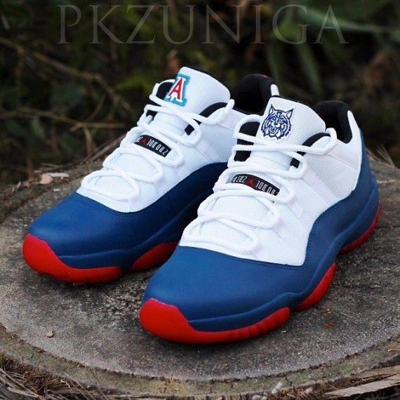 Air Jordan XI Low- Arizona Wildcats Customs by PKZUNIGA