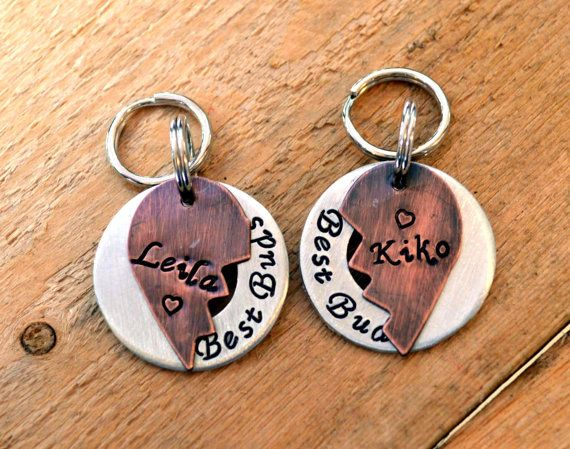 Dog Tags Pet ID Tags Dog Tag Pet Tag Pet Tags by FetchAPassionTags