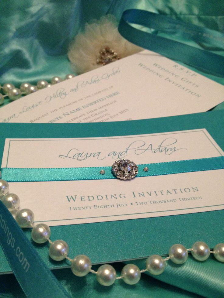 26 best london wedding invitations vintage handmade luxury london wedding invitations beautiful bespoke teal vintage chequebook design with ribbon and diamant handmade stopboris Gallery