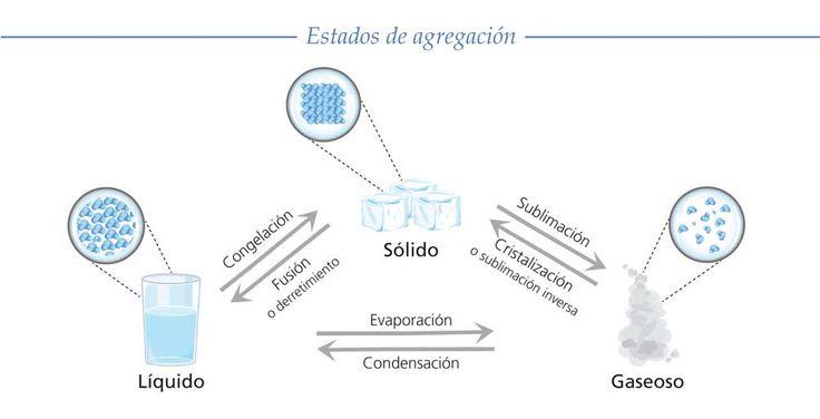 Sobre las propiedades de los cuerpos: masa, peso, volumen, densidad y estado de agregaci�n