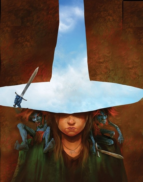 Tiffany Aching and the Hat Full of Sky, Feegles. Discworld. By Marc Simonetti.