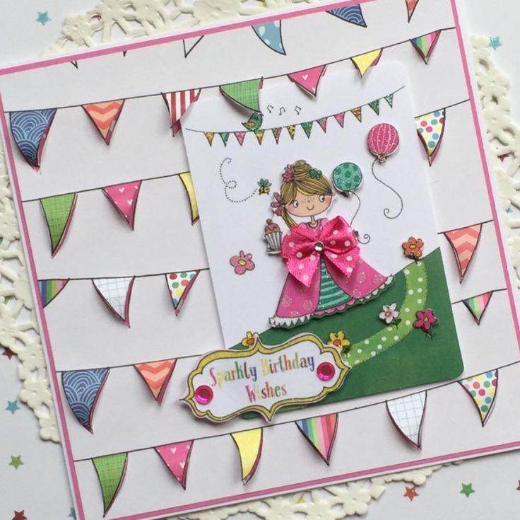 Whiz Kids Princess Banner Card by design team member Angie