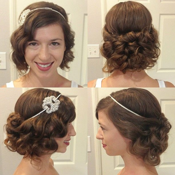 style of hair for 17 best images about great gatsby hair styles for wedding 4695