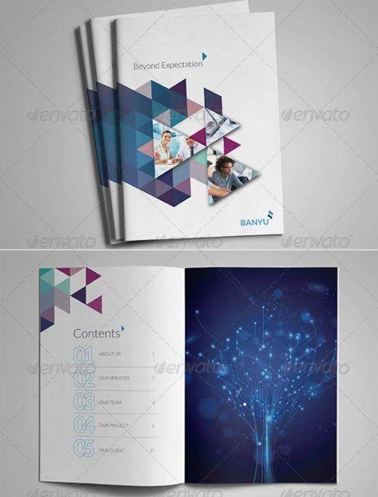 Company Profile Design Templates Free Download Premium 30 Contoh