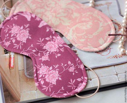 Маска для сна Нега, Маска для сна Розовые мечты Мария Исмангалиева M`Art