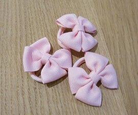 Haaraccessoires - elastiekje met strik