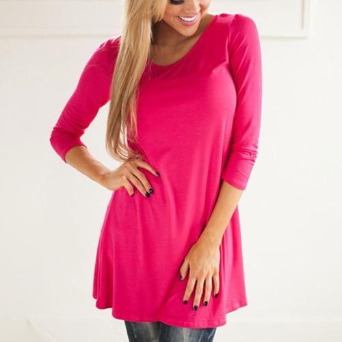 Women Lace Floral A-Line Fashion Casual S/M/L/XL Dress