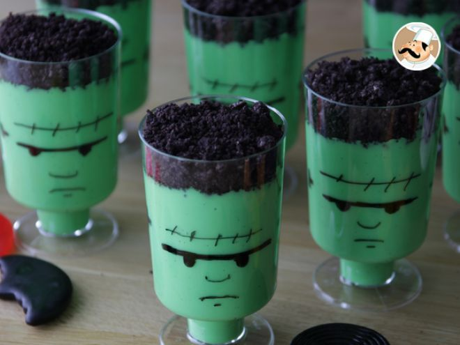 Crèmes Frankenstein pour Halloween                                                                                                                                                     Plus