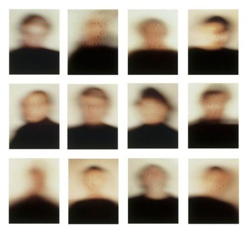 """""""Portraits"""" project (1984) by Patrick Tosani."""