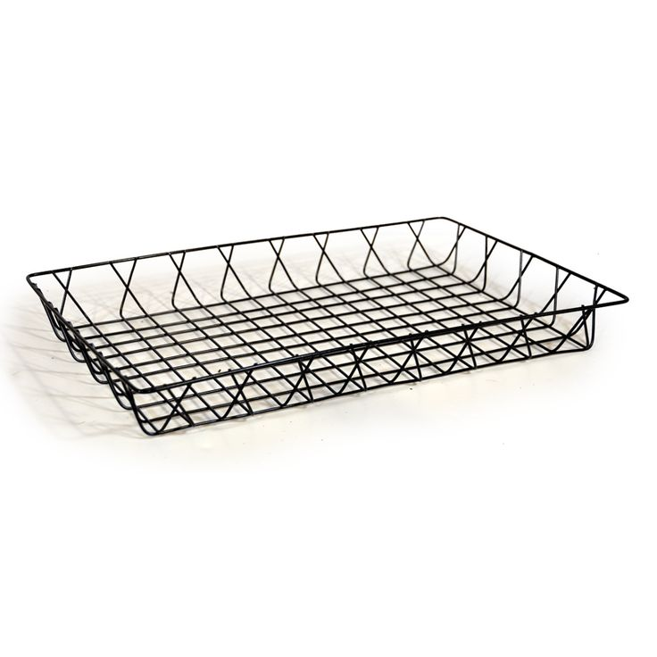 Rectangular Wire Tray Basket 17in $6.50