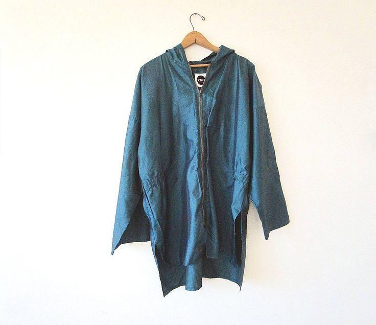 #Vintage #90s #TOTES #Green #IRIDESCENT #Hooded #Anorak #Rainwear #Lightweight #Rain #Jacket Sz #XXL by FreshtoDeathVintage on #Etsy  #etsyshop #etsyvintage #grunge #hippie #sport #preppy #spring #style #fashion #festival #summer #outerwear #vintagefashion