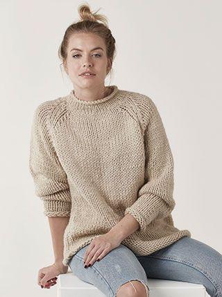 Design from Big Wool Knits (ZB209) - 8 stylish designs using Rowan Big Wool | English Yarns