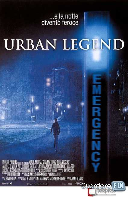 Urban Legend (1998) in streaming