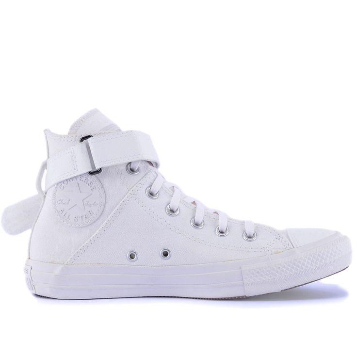 Compre Converse All Star : Tênis Converse Chuck Taylor All Star Brea Branco Branco CT04600002 por R$299,90 - Loja Virus