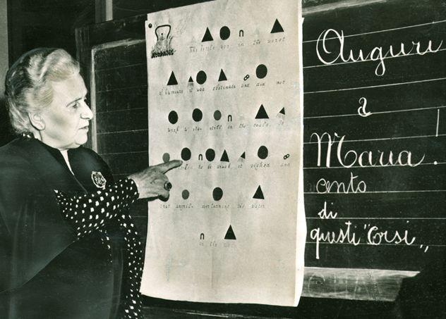 Maria Montessori   Lesson in grammar